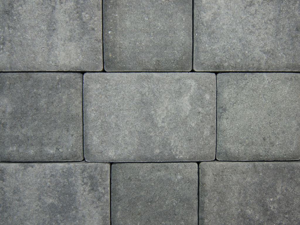 battery gray pavers