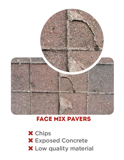 pavers that don't chip
