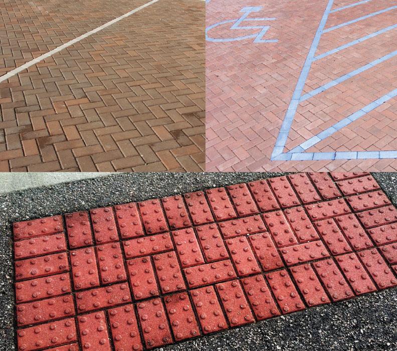 parking spot pavers