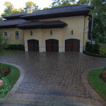 olde world cobble paver driveways