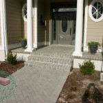 thin paver front porch remodel