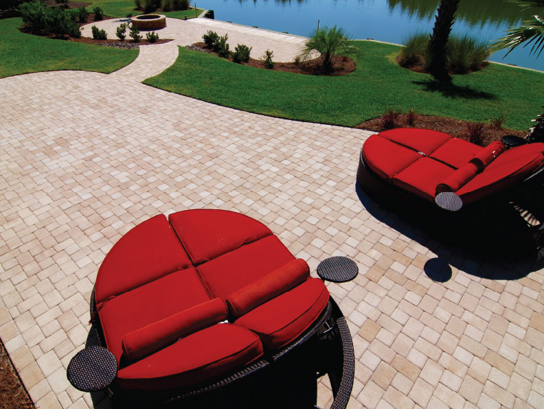 lowcountry cobble pool pavers