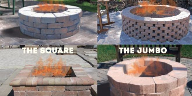 Do It Youself Fire Pit Directions Lowcountry Paver