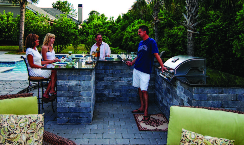 do it yourself outdoor kitchen