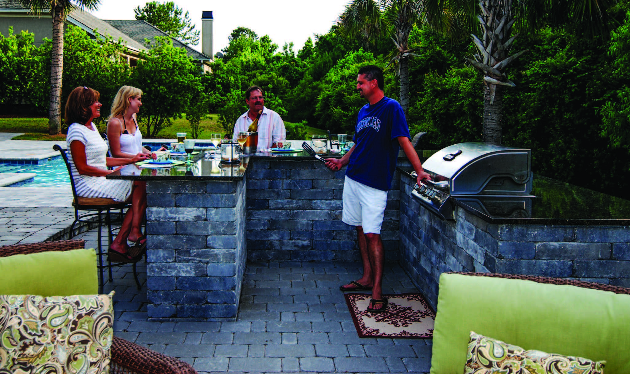 Do it yourself outdoor kitchen lowcountry paver do it yourself outdoor kitchen solutioingenieria Images
