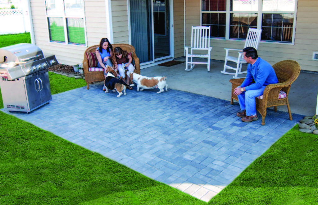 do it yourself patio pavers
