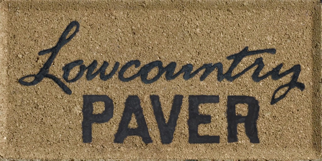 engraved lowcountry pavers