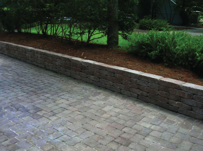 hilton head pavers - Garden Wall