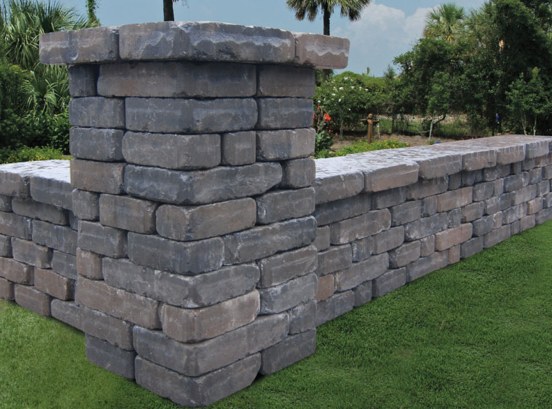 stone wall pavers charleston, mt pleasant, savannah, hilton head, bluffton